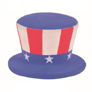 Logo printed Uncle Sam Hat Stress Reliever  STR0084