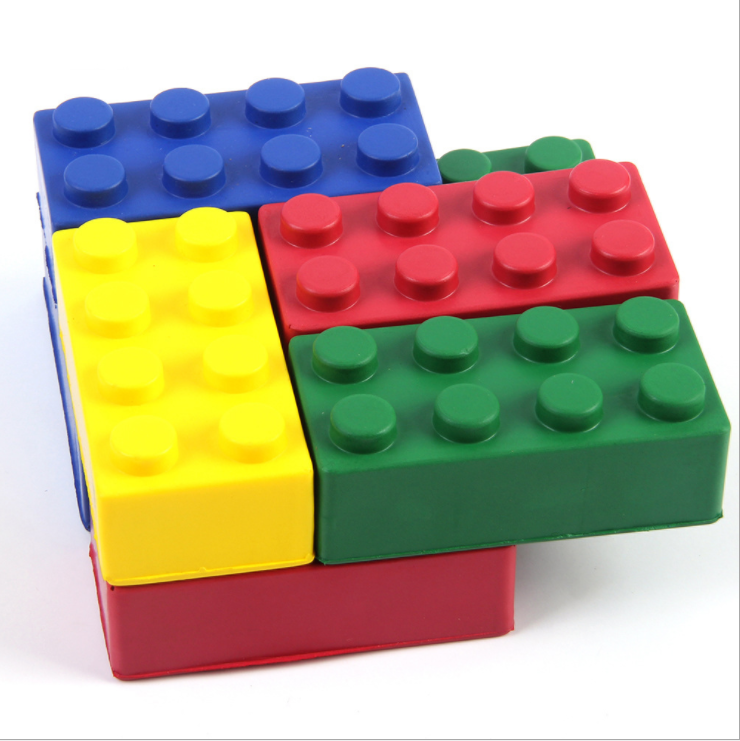 PU anti stress blocks PU stress building blocks stress reliever toys  STR0090 Featured Image