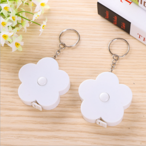 Beautiful Flower design Mini Tape Fashion Keychain Gift for girls  TMS0011