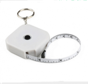 Body measuring mini retractable seamstress tape measure used for body  TMS0048
