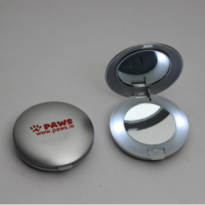 Plastic Mini LED Custom Compact Mirror with led Light  MMR0002