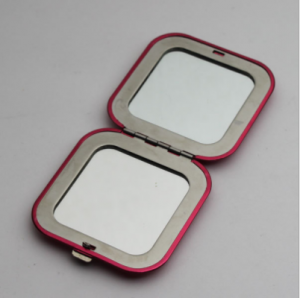 customize pocket size silver color mini magnifier mirror  MMR0006