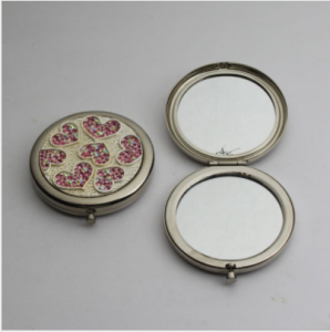 personalized custom cosmetic mirror low-cost mini hand mirror  MMR0008
