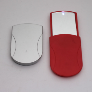mini fashion sliding pocket mirror led mirror light  MMR0013