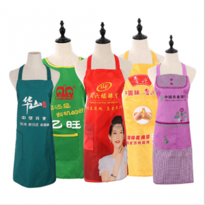 Cheap Wholesale Customized Promotion Reusable Adults Apron for Cooking Apron,Painting Apron, Coffee Apron Bread Shop Apron  PRA0001