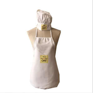 Promotional Custom Children Apron And Chef Hat  PRA0011