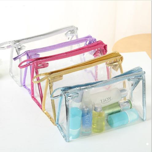 PVC Clear Cosmetic Makeup Toiletry Travel Wash Bag Pouch  TAB0002 Featured Image