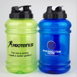2200ml Plastic water bottle 2.2l Gym water bottle Custom shaker for Fitness  SHB0010