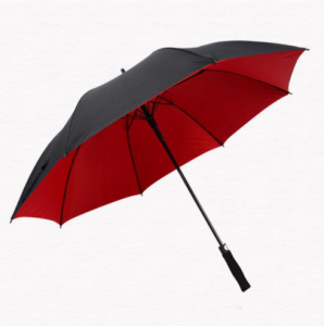 Double Layer Promotional Logo Custom Gentlemen Golf Umbrella  UM0022