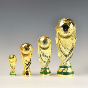 Custom resin soccer trophy world cups  TR0104
