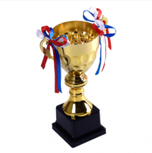 Hot selling high-end dancer metal gold sport trophy cup  TR0114
