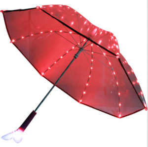 New trend blade runner light led flash clear led umbrella with torch,lightsaber umbrella  UM0056