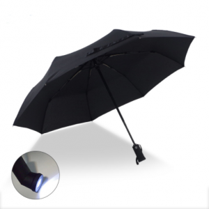Fold Outdoor Led Lighted Rain Umbrella For Gift  UM0057
