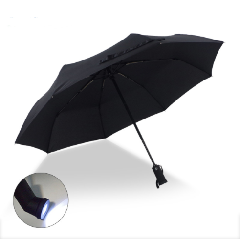 Fold Outdoor Led Lighted Rain Umbrella For Gift  UM0057 Featured Image