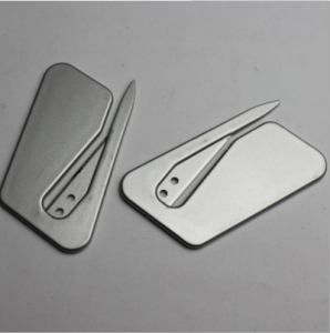Customized Color 6.5*5.2 CM Size plastic letter opener  LOP0001