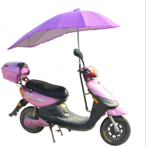 Good quality custom straight outdoor folding bicycle umbrella  UM0202