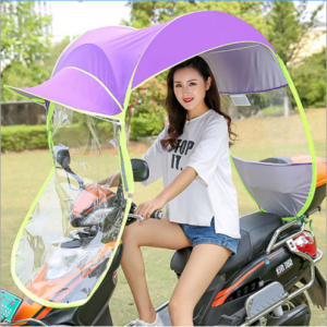 Sunproof scooter umbrella waterproof bike motorcycle umbrella  UM0204