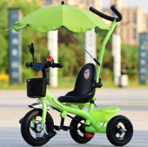 Colorful Kids Bicycle Chair Bar Holder stand Stroller Clip Bike Umbrella  UM0205