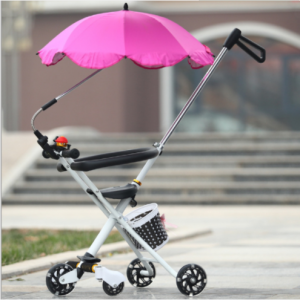 Cute pink trike bike umbrella  UM0206