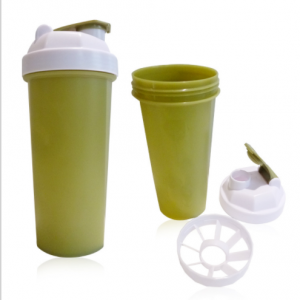 600ml/20oz Wholesale Portable Plastic Protein Funnel With Pill Box  SHK0303