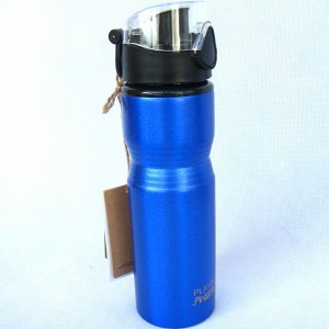 850ml Aluminium Wide Mouth With One-Pus Cylinder-Shaped Sports Bottle ASB0302