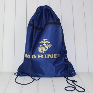 Custom Promotional Sport Pack Recycled Polyester Carry Drawstring Bag BB0003