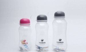 Space Plastic Water Bottle With Outdoor Camping Sport Large Capacity Bottles BT0013