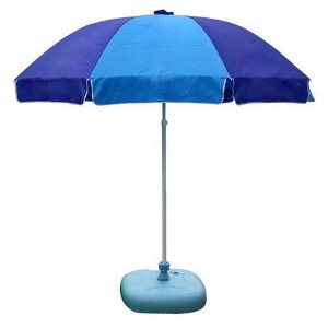 Promotional outdoor garden beach umbrella promotion umbrella rainbow beach umbrella