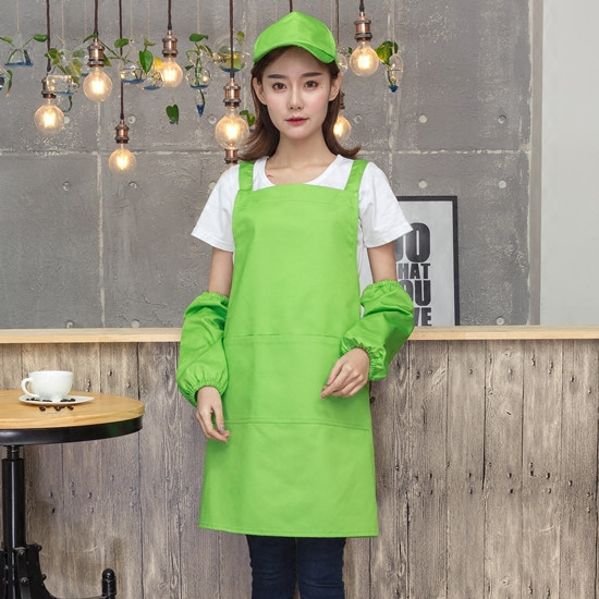 China Made bbq leather apron canvas aprons for wholesale AP0002