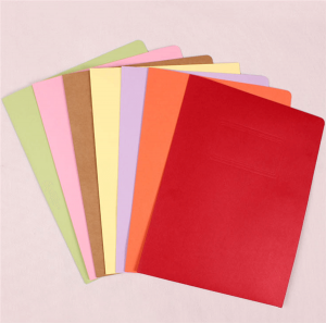 wholesale paper file folder a4 pocket paper folder with logo printing