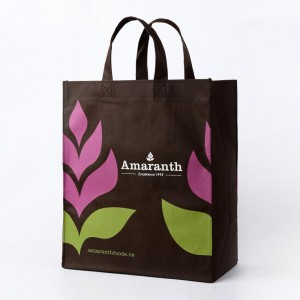 Non-woven shopping bags, environmentally-friendly tote bags, color printing, custom-made gifts, daily necessities, shopping bags SB0003