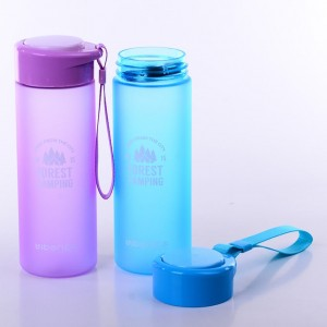 Popular best camping motivational sport space space water bottle with flip top cap BT0010