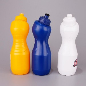 Sports must-have sports bottle Polish-bidding plastic bottle PE sports bottle BT0028