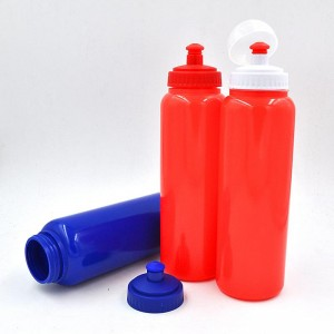 950ml PE HDPE Plastic Logo Customized PE Bicycle Sport Water Bottle BT0024