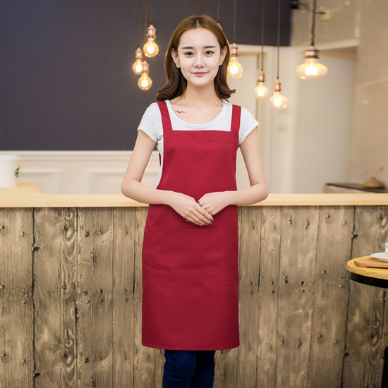Factory price adjustable women bbq apron with best AP0005