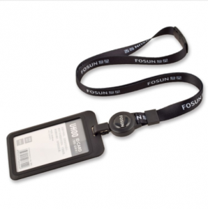Sublimation Polyester Badge Lanyard With Id Card Holder  LRD0200