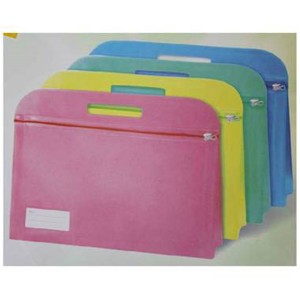 Clear pvc Plastic Clutch Pouch File Bags Document Folder LF0036