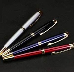 Color Lid Up Silver Barrel Wholesale Pen Making Kits  MP0004
