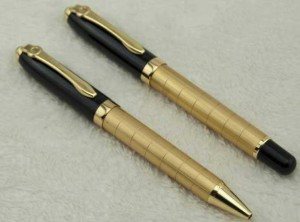 Top Quality Office Stationery Metal gold Ball Pen with Customized Logo MP0076