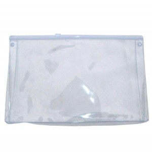 Custom logo PVC EVA travel bag clear pvc pouch with zipper in China LF0031