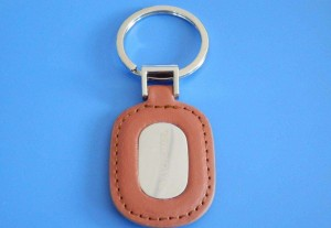 Wholesale Bulk Handmade Custom PU Leather Car Brand Logo Keychain, Name Card Key Ring, Car Logo Key Chain:PUK0013