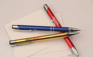 Promotional Gift Metal Aluminum Ball Pen With Laser Logo  MP0017