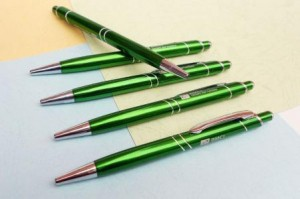 High quality Aluminum metal ball pen with comfortable grip mini order   MP0089