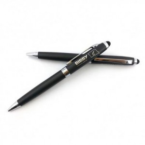 Custom Logo Metal Touch Screen Stylus Touch Pen for Smart Phone or Tablet  MP0012