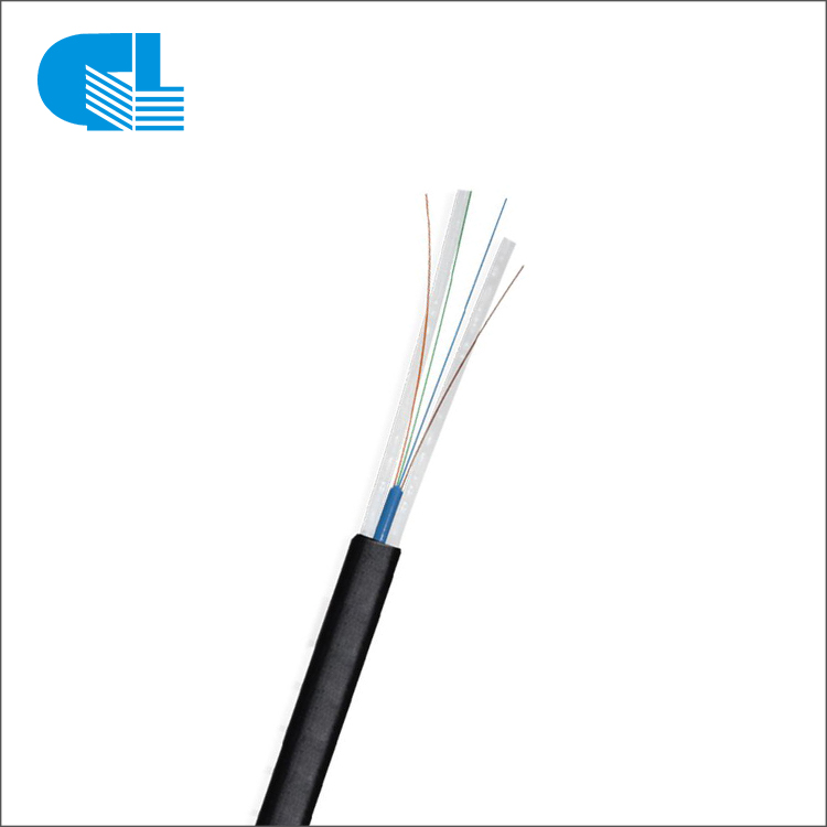 Europe style for Patch Panel - PE Sheath FRP Flat Fiber Optic Drop Cable – GL Technology