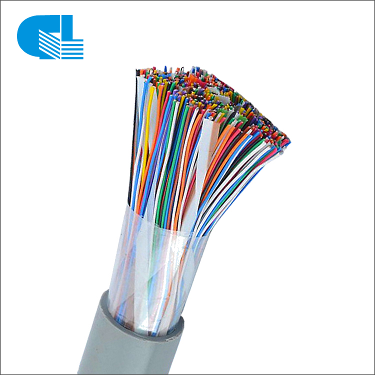 HSYV Multi Pairs 24AWG Bare Copper Indoor Telephone Cable