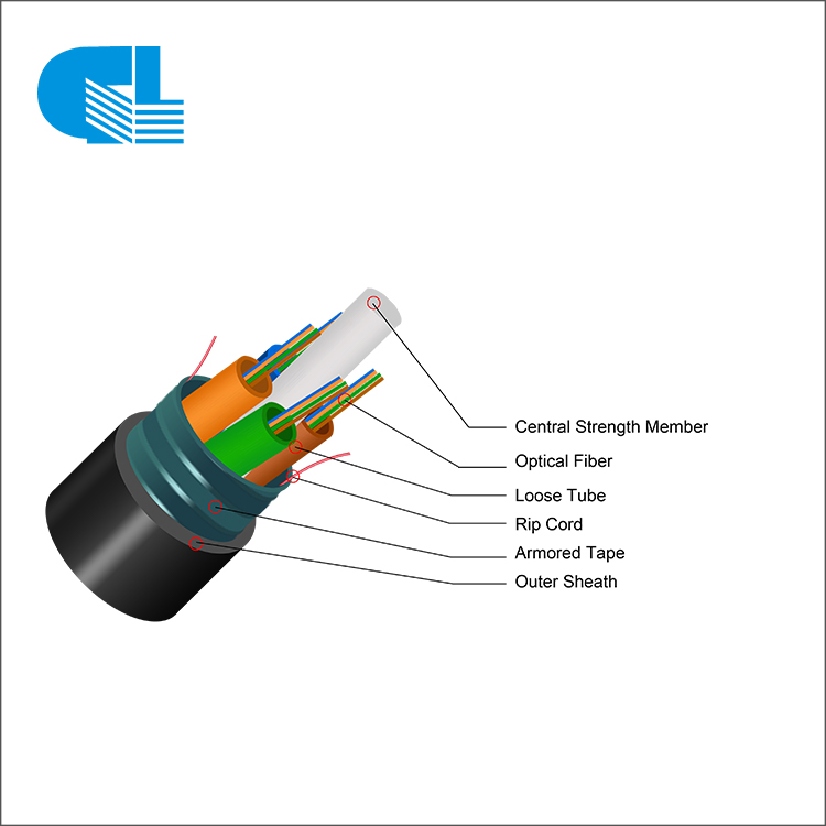 GYTS Stranded Loose Tube Cable with Steel Tape