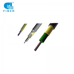 24~144Cores Air Blown Micro Duct Fiber Optic Cable Microfiber Cable