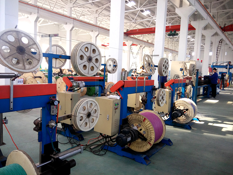 GL purchased manufacturing facilities and began simple structure FO cable production, main products GYXTW duct and aerial cable, annual amount reached $550,000