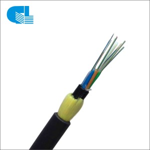 Double Sheath Aerial ADSS Fiber Optic Cable For Long Span
